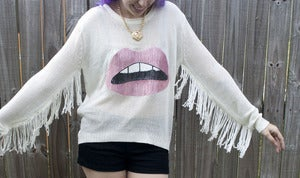 Image of Fringe Sweater