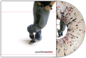 "Image of Punchline<br>'Action'<br>12"" LP (vinyl) [Clear w/ Maroon, White, and Black Splatter - ltd. 100]"