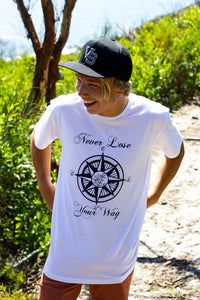 Image of 'Never Lose Your Way Tee'