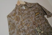 Image of A Bathing Ape Ursus Camo S/S Military Shirt M