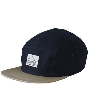 Image of Preview Camp Cap, Dark Navy / Beige