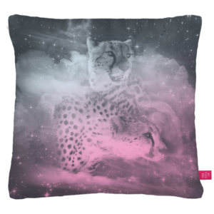 Image of Ohh Deer - Cheetahs Cushion by Drew Turner