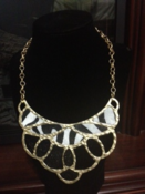 Image of Zebra Necklace Set