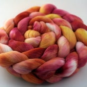 Image of Gold Roses - Rambouillet Wool Top/Roving
