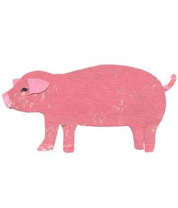 Image of Pig Original Art