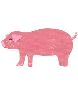 Image of Pig Original Art