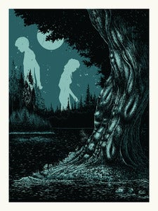 Image of Giants In Moonlight // 18x24 Art Print
