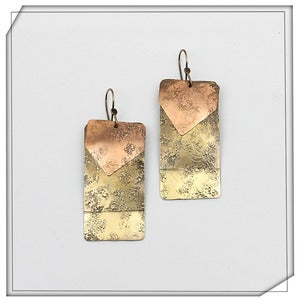 Image of Yuma Rectangle Earrings