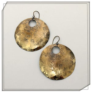Image of Emblem Earrings