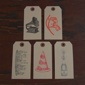 Image of Party Gift Tag Set