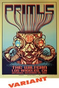 Image of PRIMUS POSTER/THE WILTERN, LA 2012 - GOLD VARIANT!