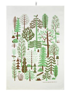 Image of Metsä Green Kitchen Towel / Keittiöpyyhe