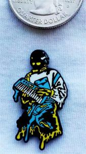 "Image of Erasmo ""Phantom"" Hat Pin"