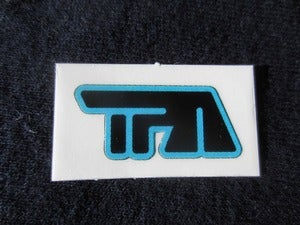 "Image of Tiny ""TPA"" logo vinyl stickers - 5 pack"