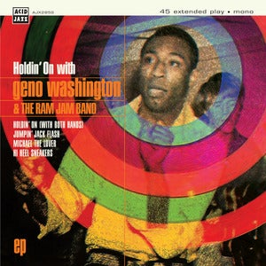 Image of Geno Washington - Holdin' On With... 7""