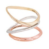 Image of TRI-TONE BANGLE SET