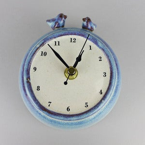 Image of Two Birds Wall Clock