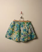 Image of c. 1980s floral skirt
