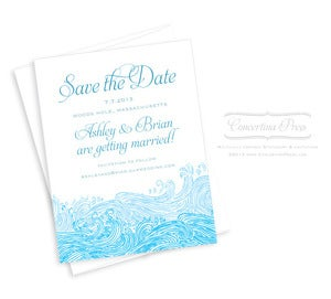 Image of Waves Save the Date