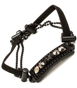 Image of Leather & Chains - Black
