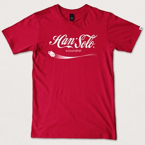 Image of Brand Wars: Han Solo - Red tee