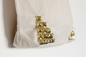 Image of Gold Studded Tote Bag (Limited)