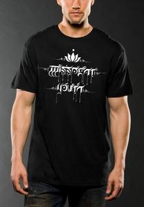 Image of TIBET - MEN'S BLACK TEE