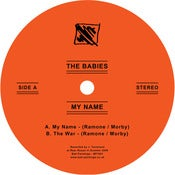 "Image of The Babies - My Name 7"" VINYL (BP7001)"