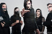 Image of Motionless In White - LARGE metallic print 16x24