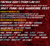 Image of FIGHTBACK RADIO SPRING FLING 3 DAY PASS!