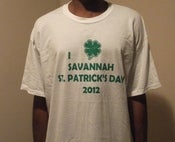Image of 2012 St Patrick's Day T-Shirt