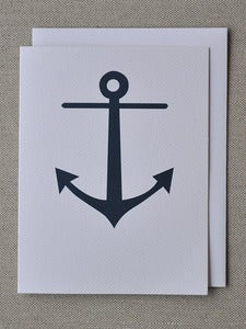 Image of Anchor Notecard