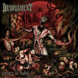 Image of Devourment - Conceived In Sewage CD