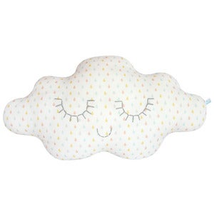 Image of Coussin nuage Gouttes