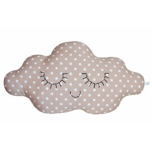 Image of Coussin nuage Louis / taupe