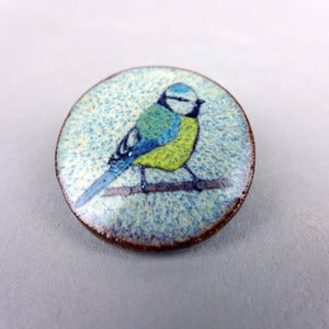 Image of Blue Tit,Robin, Song Thrush or Blackbird Brooch