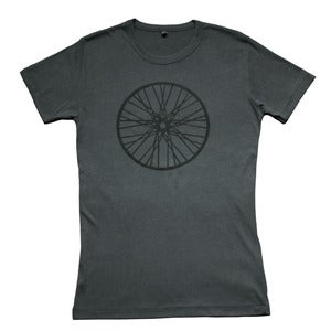 Image of Wheel t-shirt | Charcoal