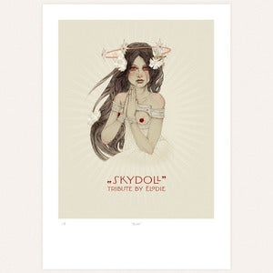 Image of &amp;#x27;Agape&amp;#x27; print by lodie
