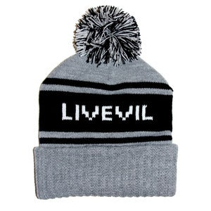 Image of Deluxe Cuff Beanie Grey