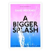 Image of A Bigger Splash Poster