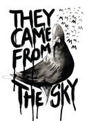 THEY CAME FROM THE SKY A3 PRINT