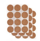 Image of {For Sticking and Sealing} – Brown Bag Round Stickers