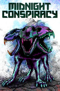 Image of Midnight Conspiracy &quot;Sentinel Color Remix&quot; poster 18&quot;x12&quot; signed