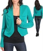 Image of Stretch Fitted Blazer 