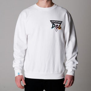 Image of BoardRiders | White Sweatshirt