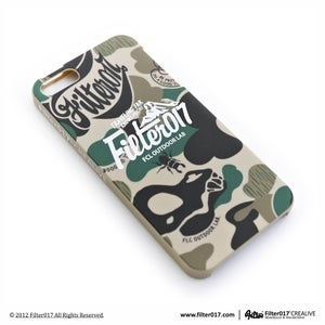 Image of Filter017 iPhone5 Case-Camouflage mountains logo