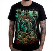 Image of ALL SHALL PERISH - Evil Winged T-Shirt