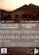 Image of Wrexham, Central Station: Supporting Jim Lockey and the Solemn Sun (04.04)