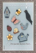Image of My Garden Button Set