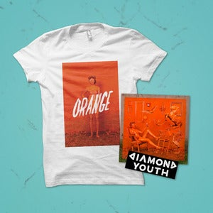 Image of Diamond Youth - Orange Vinyl Package Deal